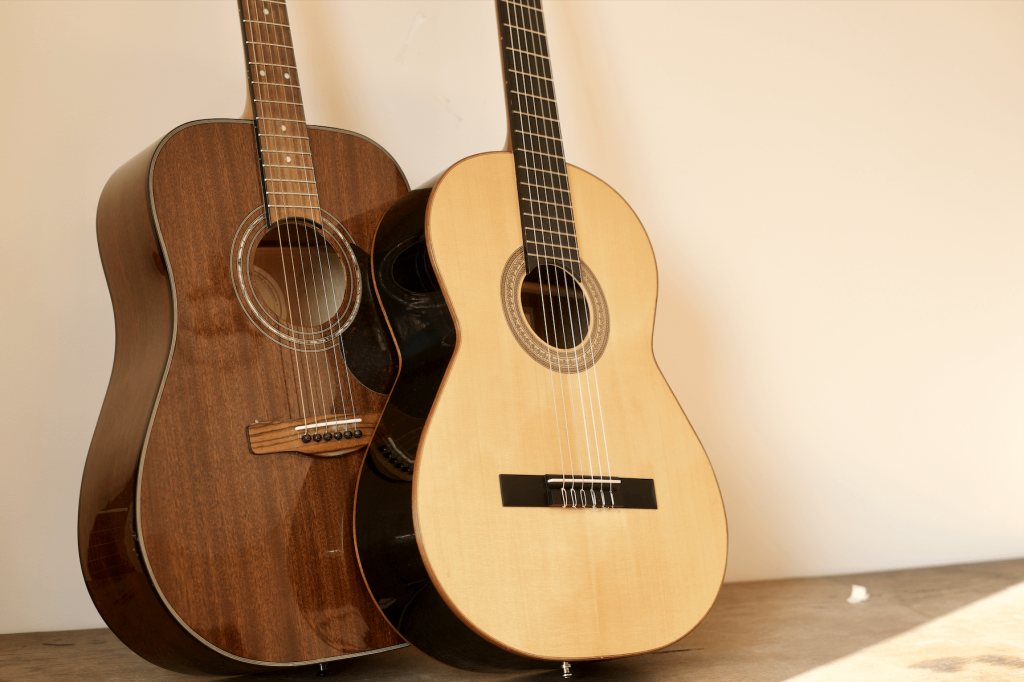 What is the difference between classical and acoustic guitars